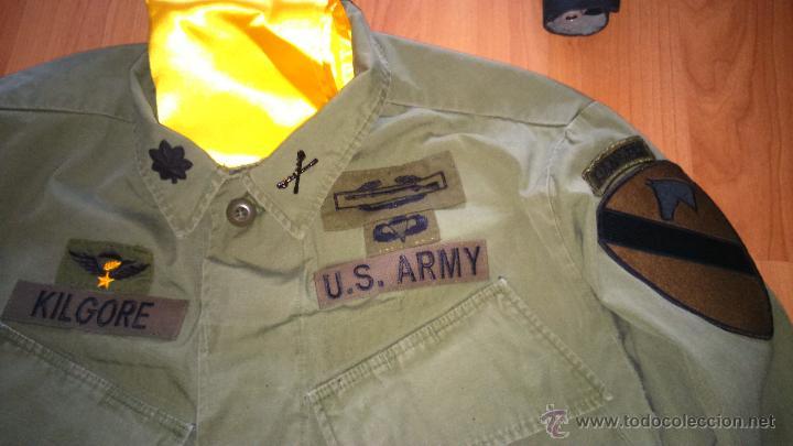Militaria: uniforme teniente coronel KILGORE apocalypse now vietnam. napalm - Foto 2 - 54166736