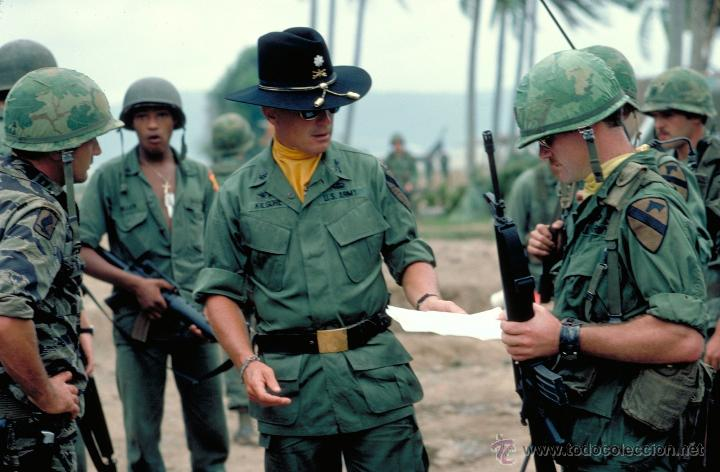 Militaria: uniforme teniente coronel KILGORE apocalypse now vietnam. napalm - Foto 6 - 54166736