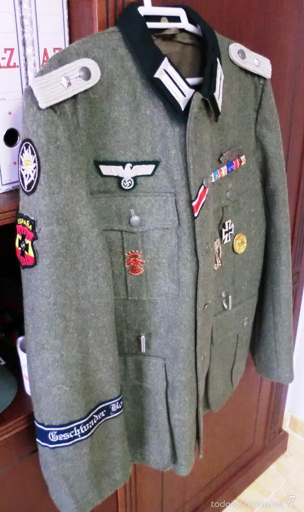 UNIFORME DE TENIENTE DE HEER ALEMAN (Militar - Uniformes Extranjeros )