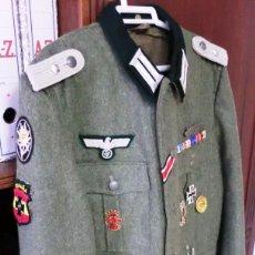 Militaria: UNIFORME DE TENIENTE DE HEER ALEMAN. Lote 56900305