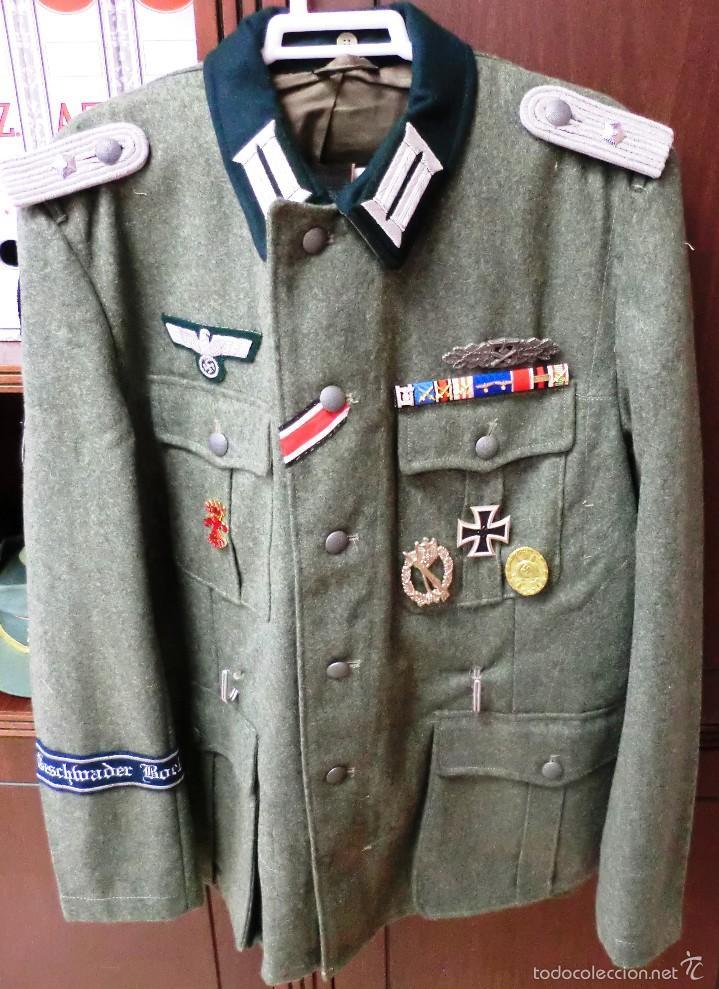 Militaria: UNIFORME DE TENIENTE DE HEER ALEMAN - Foto 2 - 56900305