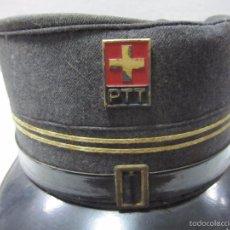 Militaria: BONITO GORRO SUIZO DE EMPRESA DE COMUNICACIONES,PTT,SUIZA,MUY BONITO,VER LAS FOTOS. Lote 58160642