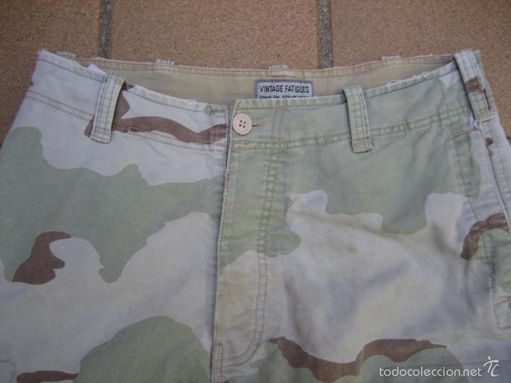 Militaria: Pantalón camuflaje ejército americano. Guerra del Golfo II Irak - Foto 2 - 58668106