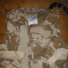 Militaria: CHALECO ANTIFRAGMENTACION BRITANICO CAMO DESSERT. Lote 61110799