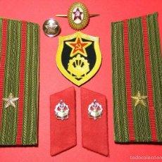 Militaria: URSS - CCCP - LOTE DISTINTIVOS UNIFORME - - UNIDADES ZAPADORES - GUERRA FRIA - ORIGINAL. Lote 61184387