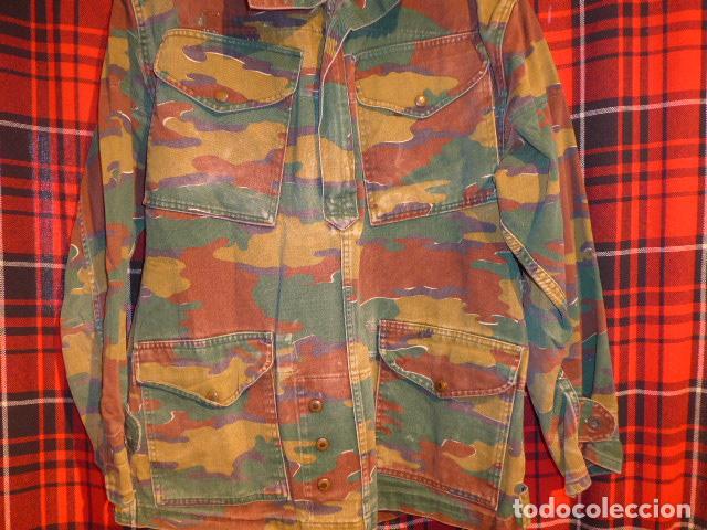 Militaria: Guerrera belga de camuflaje, original de paracaidista de Belgica, años 70/80 - Foto 3 - 62428060