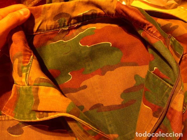 Militaria: Guerrera belga de camuflaje, original de paracaidista de Belgica, años 70/80 - Foto 5 - 62428060