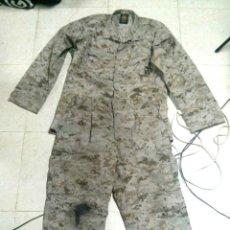 Militaria: CAMISA PANTALÓN MARPAT DESIERTO ORIGINAL USMC MARINES. IRAK Y AFGANISTÁN. AIRSOFT. Lote 67049462
