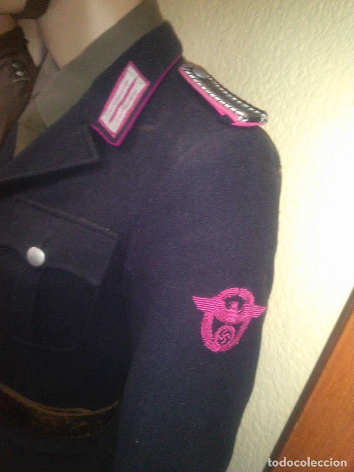 OFERTON UNIFORME ALEMAN ORIGINAL POLICEI FEURWEHR1944 COMPLETO GUERRERA+PANTALON +CASCO M34POLICEI (Militar - Uniformes Extranjeros )