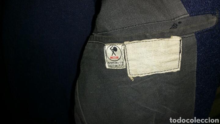 Militaria: Uniforme de paseo de paracaidista francés años 50 a 60 medidas manga 64 centímetros hombros 46 cm - Foto 5 - 67965667