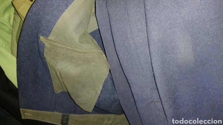Militaria: Uniforme de paseo de paracaidista francés años 50 a 60 medidas manga 64 centímetros hombros 46 cm - Foto 6 - 67965667