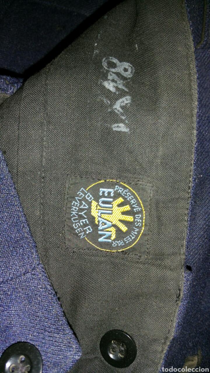 Militaria: Uniforme de paseo de paracaidista francés años 50 a 60 medidas manga 64 centímetros hombros 46 cm - Foto 9 - 67965667