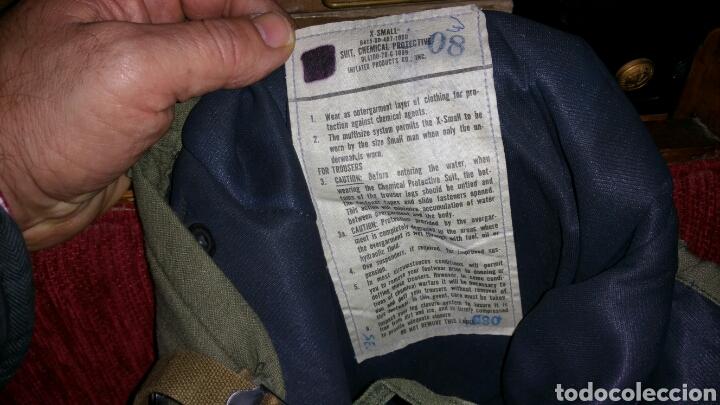 Militaria: Pantalón militar NBQ guerra Vietnam años 50 60 cintura aproximada 48 cm entrepierna abajo 78 centíme - Foto 5 - 67969270