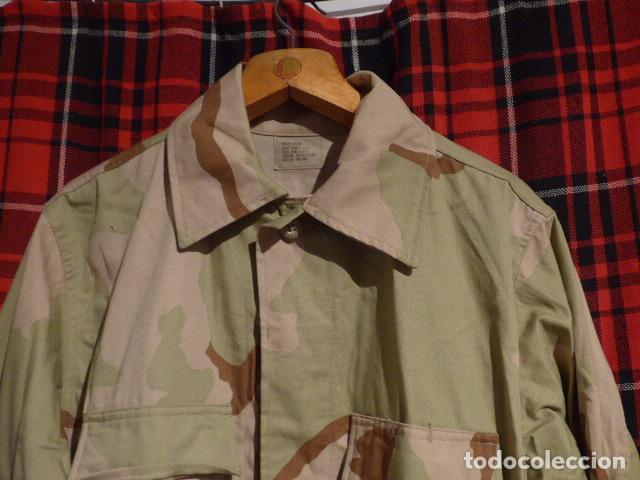 Militaria: Guerrera de uniforme de camuflaje americana, de Estados Unidos, desert. - Foto 2 - 69525309