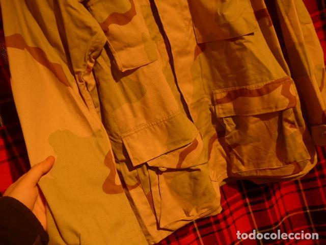 Militaria: Guerrera de uniforme de camuflaje americana, de Estados Unidos, desert. - Foto 4 - 69525309