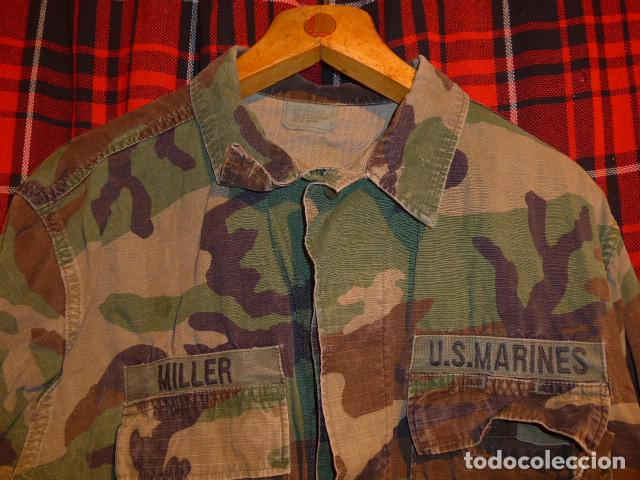 Militaria: Guerrera de uniforme americano, US Marines. Estados Unidos. - Foto 2 - 69547741