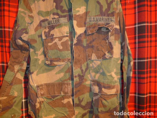 Militaria: Guerrera de uniforme americano, US Marines. Estados Unidos. - Foto 3 - 69547741