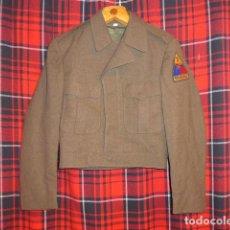 Militaria: ANTIGUA GUERRERA BATTLE DRESS AMERICANA, CON SU PARCHE. ESTADOS UNIDOS. . Lote 69548397