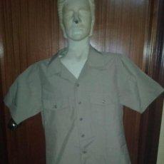 Militaria: USN. US NAVY. CAMISA CAQUI DE UNIFORME. Lote 69741089