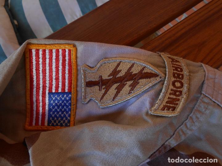 Militaria: Guerrera arida Teniente coronel US 1ª guerra del golfo Paracaidistua airborne y Boina verde - Foto 9 - 70298149