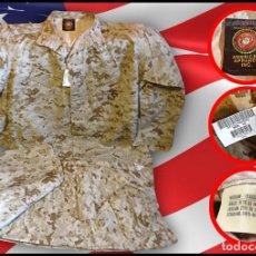 Militaria: UNIFORME ORIGINAL MARPAT MARINES USA, VERSIÓN DESIERTO. Lote 71529539