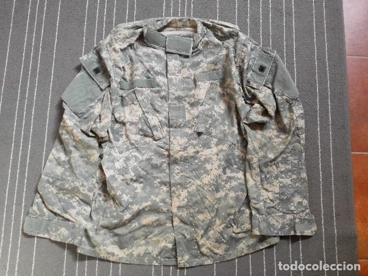 GUERRERA US ARMY ACU TALLA MEDIUM LONG COMO NUEVA (Militar - Uniformes Extranjeros )
