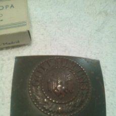 Militaria: HEBILLA WHERTMACHT REPRO. Lote 75902519