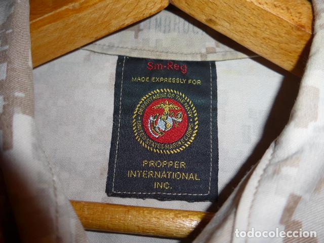 Militaria: Guerrera original de uniforme de camuflaje de marines americanos, estados unidos. - Foto 4 - 76127727