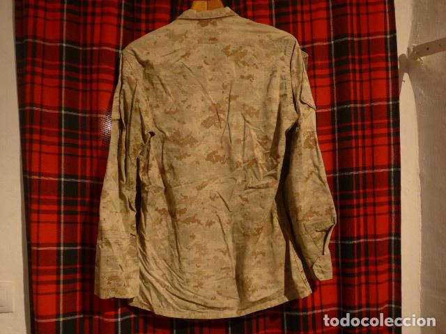 Militaria: Guerrera original de uniforme de camuflaje de marines americanos, estados unidos. - Foto 7 - 76127727