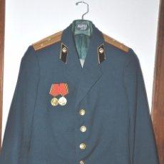 Militaria: CHAQUETA MILITAR SOVIETICA .MAJOR TENIENTE .CON MEDALLAS .URSS. Lote 76129822