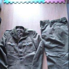 Militaria: UNIFORME BRITANICO. GUERRERA Y PANTALON. UBIQUE. Lote 81154636