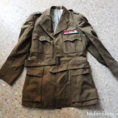 Militaria: GUERRERA MILITAR FRANCESA DE OFICIAL DE ARTILLERÍA. Lote 82392280