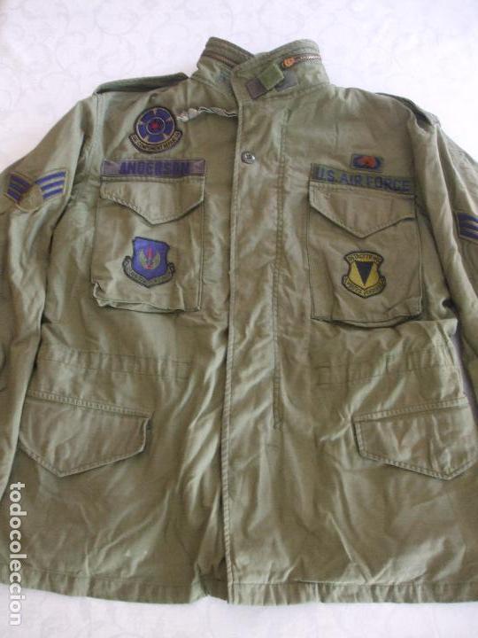 ABRIGO VINTAGE US ARMY - COAT, COLD WEATHER: FIELD OG-107 segunda mano