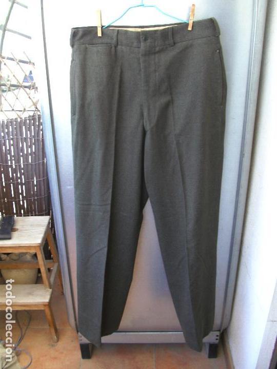 Militaria: Pantalones EE.UU, lana m51,pantalón militar m1951, guerra de Corea y post,talla 34-33 (44 española) - Foto 2 - 83687800
