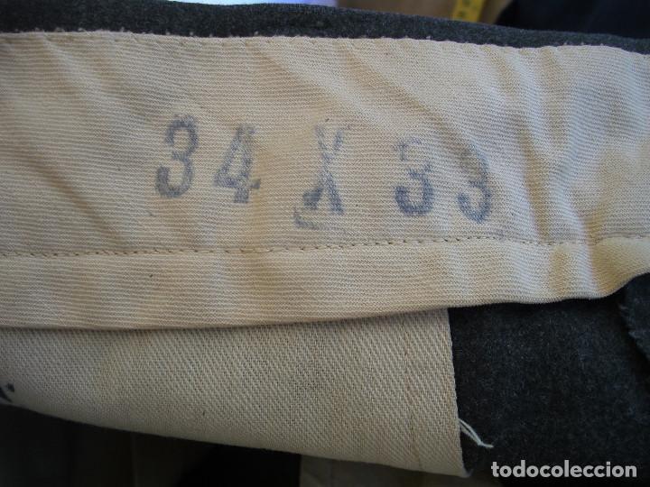 Militaria: Pantalones EE.UU, lana m51,pantalón militar m1951, guerra de Corea y post,talla 34-33 (44 española) - Foto 5 - 83687800