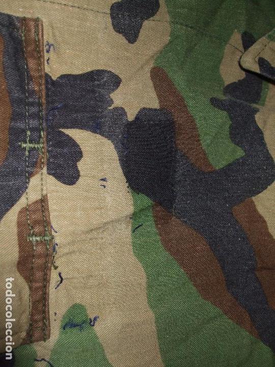 Militaria: AUTÉNTICA CAMISA CHAQUETA CAMUFLAJE US ARMY WOODLAND - Foto 5 - 84035760