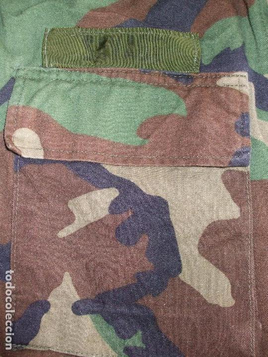 Militaria: AUTÉNTICA CAMISA CHAQUETA CAMUFLAJE US ARMY WOODLAND - Foto 3 - 84174024