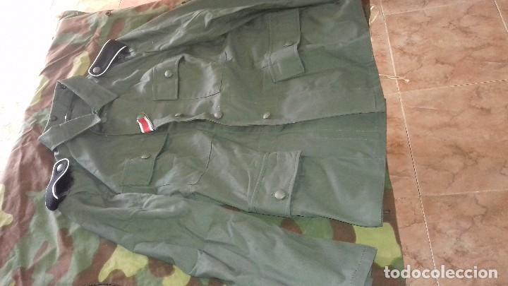 Militaria: Guerrera alemana Drillich M43, talla M - Foto 2 - 84623320