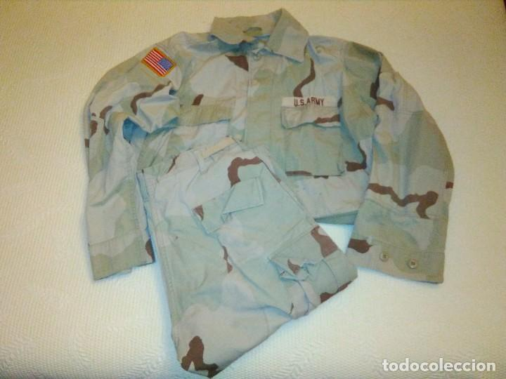 UNIFORME USA CAMUFLAJE DESIERTO. (Militar - Uniformes Extranjeros )