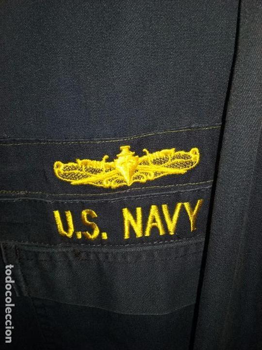 Militaria: USN. US NAVY. MONO DE UNIFORME DE UN OFICIAL - Foto 3 - 92258560