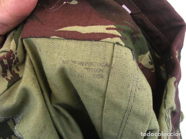 Militaria: Camisola ejército portugués,guerras ultramar años 60 y 70 del siglo XX (Angola,Mozambique,Guinea B. - Foto 4 - 173837745