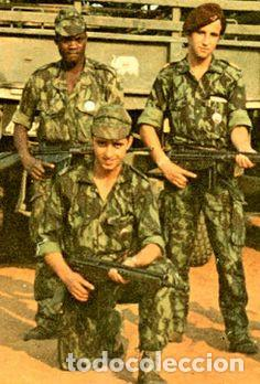 Militaria: Camisola ejército portugués,guerras ultramar años 60 y 70 del siglo XX (Angola,Mozambique,Guinea B. - Foto 5 - 173837745