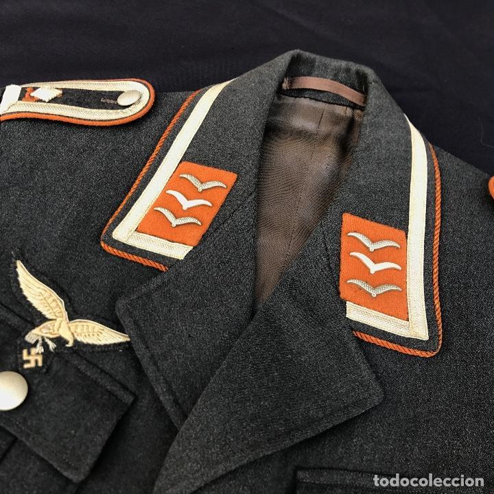 Militaria: Guerrera Luftwaffe. Tercer Reich. Segunda Guerra Mundial. Original. - Foto 2 - 96266891