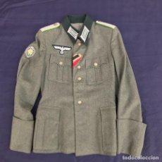 Militaria: GUERRERA GEBIRGSJAEGER DE OFICIAL. TERCER REICH. ORIGINAL. . Lote 96267559