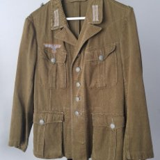 Militaria: WW2 DAK DEUTSCHES AFRIKA KORPS GUERRERA DE COMBATE DE PRIMER MODELO ORIGINAL. Lote 99055631