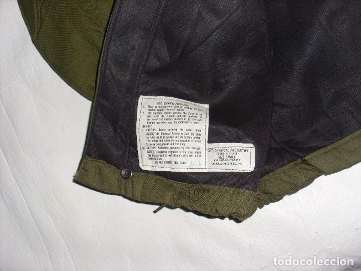 Militaria: ANTIGUO UNIFORME PARA QUÍMICOS US ARMY Talla Pequeña - Foto 3 - 103703691