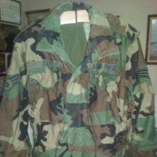 Militaria: USAF. US AIR FORCE. CHAQUETON TIPO M-65 WOODLAND PARA TIEMPO FRIO . . Lote 104551831