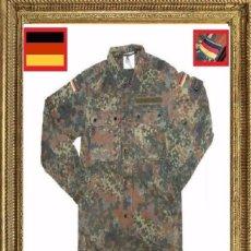 Militaria: CHAQUETA CAMUFLAJE ORIGINAL DEL EJERCITO DE ALEMANA (BUNDESWEHR) - OFERTA NAVIDAD. Lote 112370256