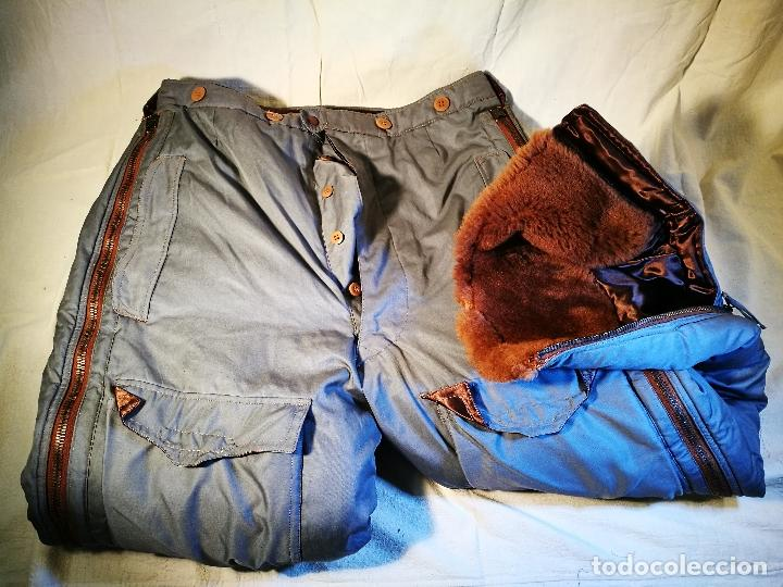 Militaria: antiguo pantalon vuelo invierno WWII RAF - Foto 20 - 104858511