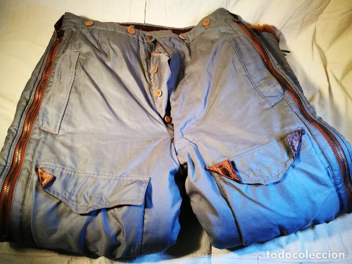 Militaria: antiguo pantalon vuelo invierno WWII RAF - Foto 22 - 104858511